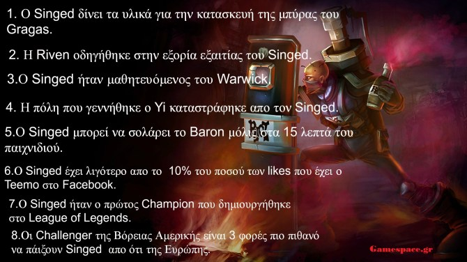 Singed Facts